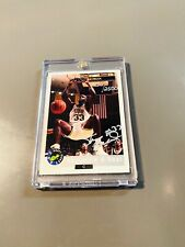 1992 SHAQUILLE O'NEAL CLASSIC ROOKIE AUTO SP 2500 1/1 AUTOGRAPH RARE BACK ROOKIE