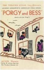 PORGY AND BESS (BROADWAY) Movie POSTER 14x22
