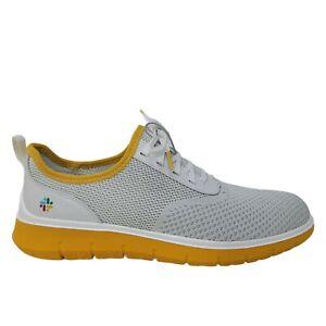 Cole Haan Generation ZeroGrand Stitchlite Sneaker Men Size 10.5 White/Yellow