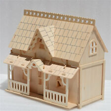 24th DIY Wooden Dollshouse Miniature Kit  Room Decor Toy Crafts Christmas Gifts