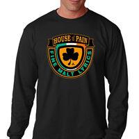 New HOUSE OF PAIN FINE MALT LYRICS Men's Long Sleeve Black T-Shirt Size S-3XL