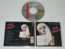 NINA HAGEN/THE MUY BEST OF(CBS 467339-2) CD ÁLBUM