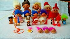 Rare Dam Troll Norfin Lot of 22 - Adorable Vintage