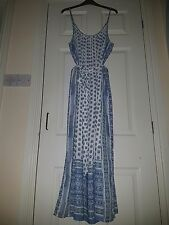 Women's Summer Maxi Dress Dresses by Gap in whites & blues size Large