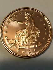 Trade Dollar 10-pk of 1 ounce solid copper coins by REEDERSONG