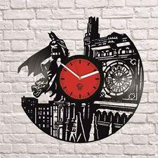Batman Dark Knight Comics DC Vinyl Wall Clock Best Gift Room Decor Unique Design