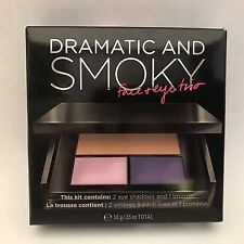 Victoria's Secret Dramatic and Smoky Face & Eye Trio Make Up Bronzer & Shadow