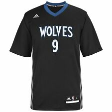 ($60) Minnesota Timberwolves RICKY RUBIO nba ADIDAS Jersey Adult MENS/MEN'S (xl)
