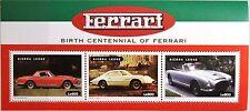 SIERRA LEONE 1998 Klb 3082-84 Ferrari Automobile Cars Autos Sportwagen MNH