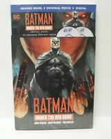 NEW DC Batman Under the Red Hood Graphic Novel  (BLU-RAY+DVD Set)