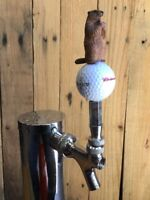 Caddyshack Golf TAP HANDLE  Vintage Budweiser Script Ball Gopher Beer Keg Vtg