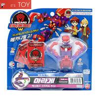 Turning Mecard W WING LION Transformer CAR Winglion Robot kids Korean Toy model