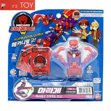 Turning Mecard W ARAGHE Purple ver. Crab Taxi Transformer Korean Robot Car Toy