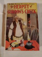 HAL KEEN The Hermit Of Gordon's Creek by Hugh Lloyd 1931 HK-1 1st Ed Original DJ