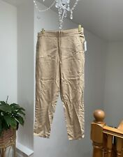 BNWT Gap Womens Beige Loose Fit Trousers Small U.K. 10