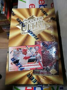 1994 Fleer ULTRA Series 1 Baseball Factory Sealed 36 Pack Box
