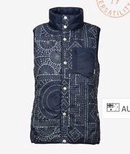 Burton Hella Vest Women's Size 12 Medium Navy Revo Down Warm
