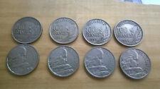 4 PIECES MONNAIES  DE 100 FRANCS FRS COCHET 1954 - 1954B -1955 -1955B