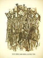 Napoleon Bonaparte Soldaten! Schönbrunn Sprachausgabe Du 27 Dec 1805 mit Decaris