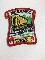 """Vintage Cub Scout Webelos Patch St Louis Council BSA Meramec Trail 3.5"""" X 2.5"""""""