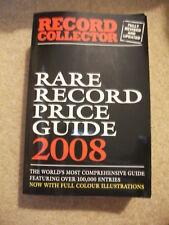 Record Collector Rare Record Price Guide 2008 Book