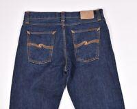 Nudie Jeans Sharp Bengt Asciutto Sporco Biologico Uomo Jeans Taglia 33/34