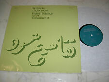 ARABISCHE LAUTENMUSIK Farhan Sabbagh spielt Taqsim für ´Ud *RARE PRIVATPRESSUNG*