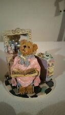 Boyds Bears & Friends Tressa Bouffant 2005 Hairdresser Figurine w/Box #A8