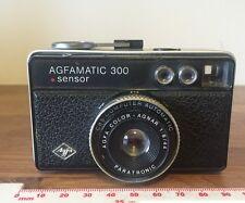 Vintage AGFAMATIC 300 Sensor 126 Cámara De Cine Buenas Condiciones De Funcionamiento