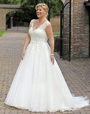 Brautkleid Hochzeitskleid Kleid für mollige Braut Babycat collection 34-56 K01