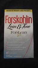 BioGenetic Forskohlin Lean & Tone ForsLean 59 Veggie Caps OPENED @