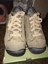 Keen Womens Reisen Lace Up Shoes US size 8 Army Green EUC