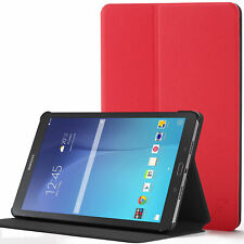 Samsung Galaxy Tab E 8.0 Case, Cover, Stand | Red + Stylus & Screen Protector