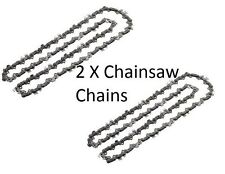 "2 x Chainsaw Chains for Tanaka ECS3351 ECS3500 ECS360 TCS3401 12""/ 30cm 45 Links"