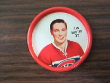 1962-63 Shirriff metal coin #32 Jean Beliveau (B23) Montreal Canadiens