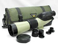 [N.Mint] Nikon Fieldscope Spotting Scope D=60 P w/ 20-45x & 30x Eye Piece Japan
