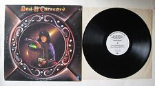 Dan McCafferty (Nazareth) Debut Album LP White Label Promo
