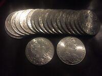 Roll of 20 Silver Austrian Thaler UNC Restrike Coins