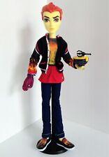 Monster High 2012 Home Ick Double Recipe Heath Burns Fire Elementals Boy Doll