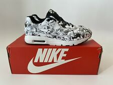 NIKE AIR MAX 1 WOMENS ULTRA LOTC QS NEW YORK CITY BLACK WHITE 747105 001