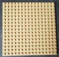 Lego 16x16 Brown Baseplate