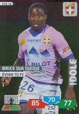 ETG-14 DJA DJEDJE WATFORD.FC IDOLE EVIAN THONON CARD ADRENALYN FOOT 2014 PANINI