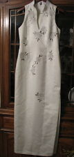 ladies 14 Alex Hanson wedding gown bridal formal beaded embroidered off white