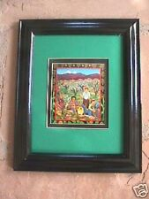 Diana Bryer Cleaning the Acequia framed print