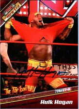 TNA Hulk Hogan H1 2010 Tristar New Era RED Authentic Autograph Card SN 5 of 9