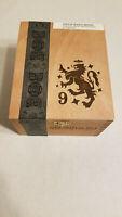 Drew Estate Liga Privada No. 9, empty cigar box