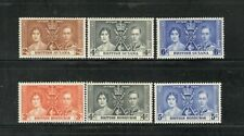 BRITISH COLONIES - CORONATION - 2 SETS - MNH - YR 1937