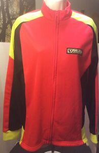 Pearl Izumi Women's Neon Fleece Cycling Jacket Pink/Orange/Yellow/Black Large