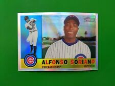 2009 Topps Heritage Chrome Refractor #C46 #473/560 Alfonso Soriano