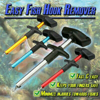 T Bar Easy Fish Hook Remover Fishing Tool Minimizing The Injuries Tackle Supply